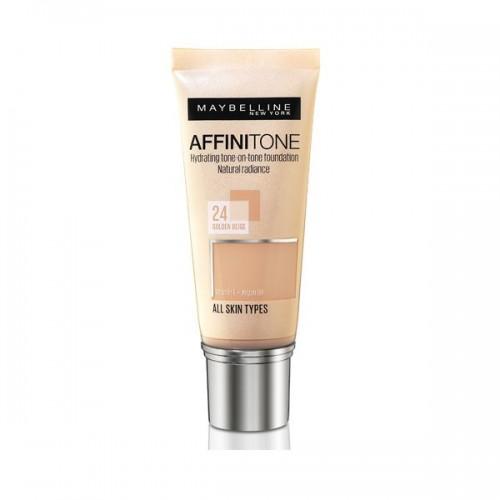 Podkład Affinitone z olejkiem arganowym Maybelline, cena
