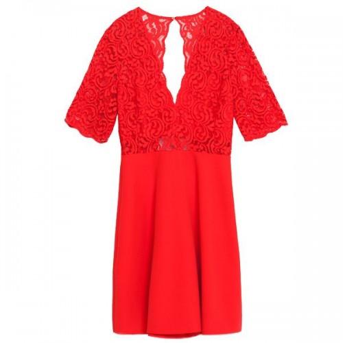 Rozkloszowana sukienka Zara, cena