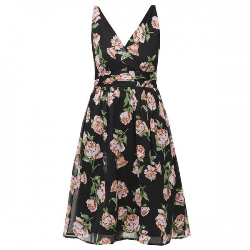 Rozkloszowana sukienka Vero Moda, cena
