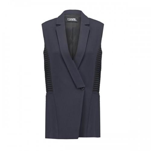 Granatowa kamizelka Karl Lagerfeld, cena