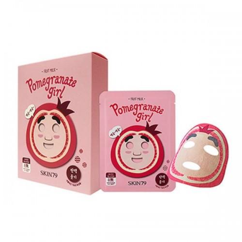 Maseczka do twarzy Fruit Mask - Pomegranate Girl, cena 15 zł