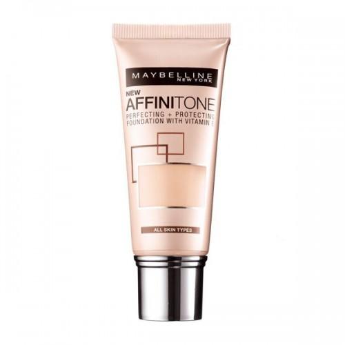 Podkład do twarzy Affinitone Maybelline, cena z 24,99 zł na 14,99 zł dostępny w promocyjnej cenie w drogeriach Hebe