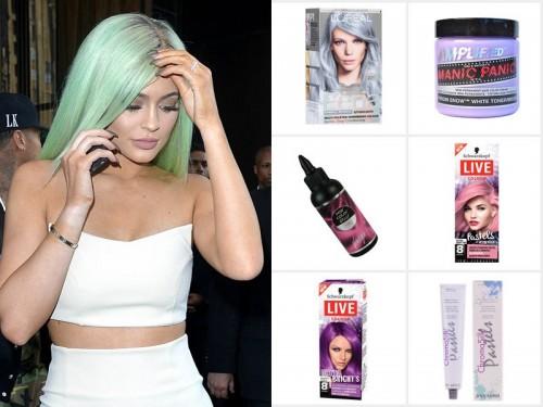 Kolorowe włosy - tonery do włosów