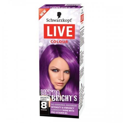 Farba do włosów do 8 myć Live Color Schwarzkopf, cena ok. 30 zł