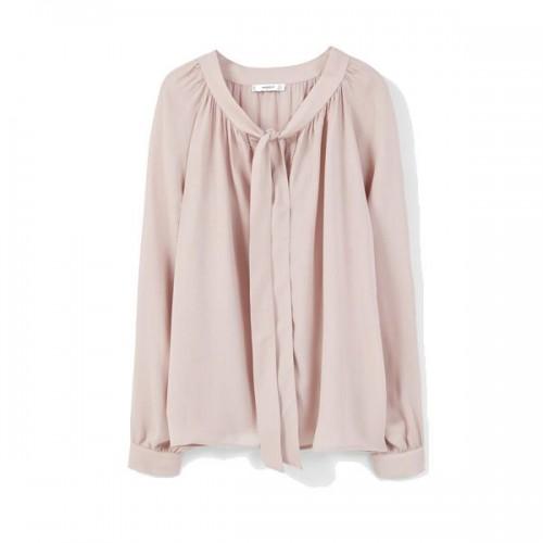 Różowa koszula Mango, cena