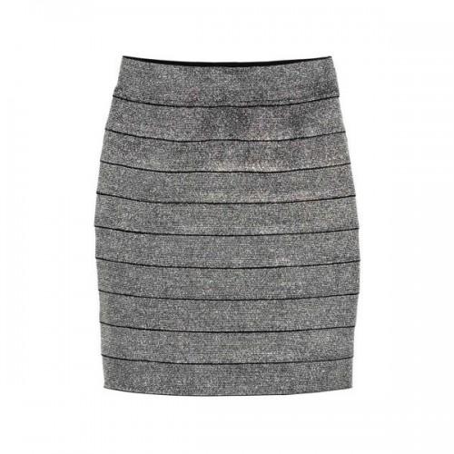 Srebrna spódnica H&M, cena