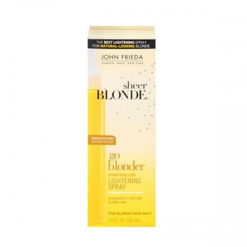 Rozjaśniacz do włosów w sprayu Sheer Blonde John Frieda, cena 59 zł