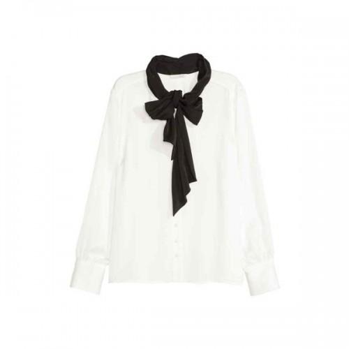 Bluzka z kokradą H&M, cena