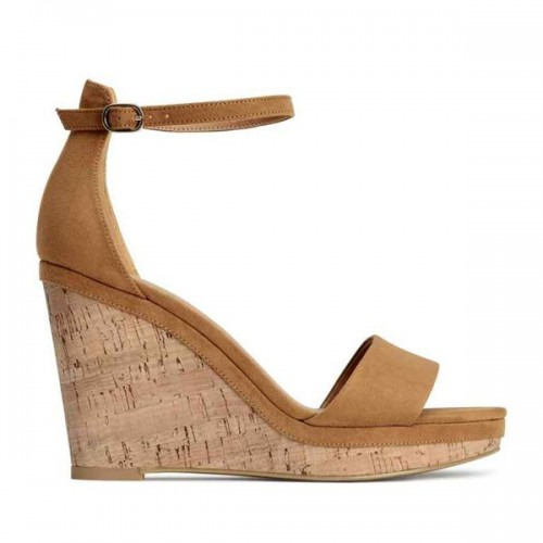 Sandały na koturnie H&M, cena