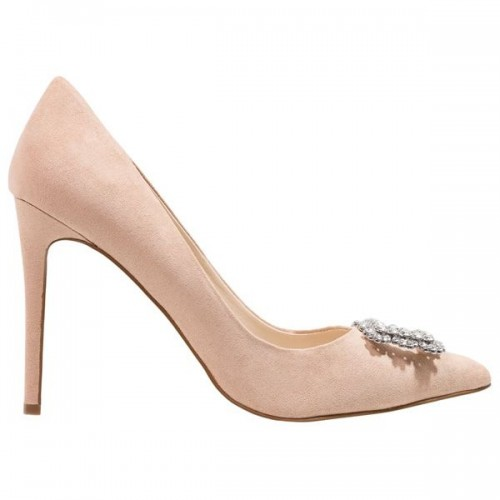 Beżowe buty na obcasie Dorothy Perkins, cena