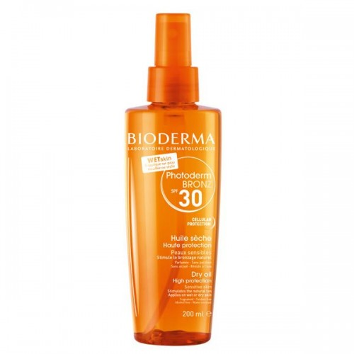 Ochronny olejek przyspieszający opalanie Photoderm BRONZ SPF 30 Bioderma, cena