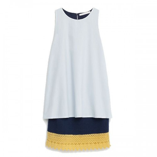 Błękitna sukienka Zara, cena