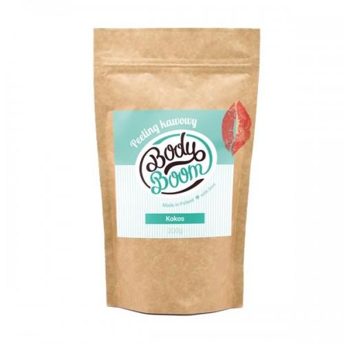 Peeling kawowy o zapachu kokosa Body Boom, cena
