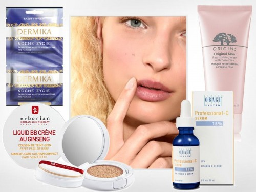Kosmetyki które poprawiają wygląd cery