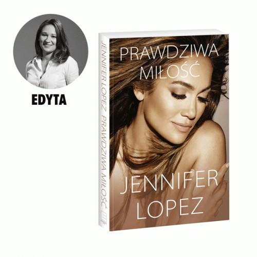 """Książka Jennifer Lopez, """"Prawdziwa miłość"""", cena 49,90 zł"""