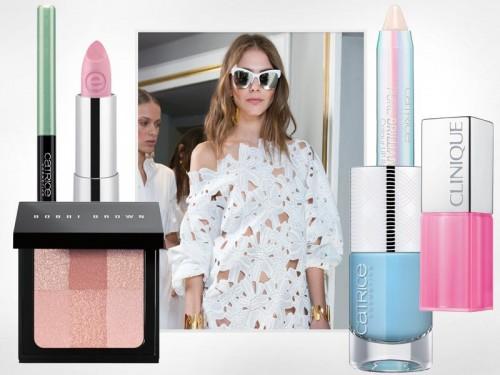 Pastelowe kosmetyki - modny makijaż 2016