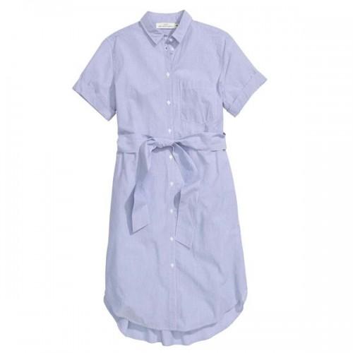 Koszulowa sukienka H&M, cena