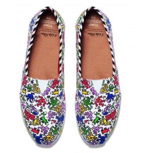 Buty TOMS x Keith Haring Foundation