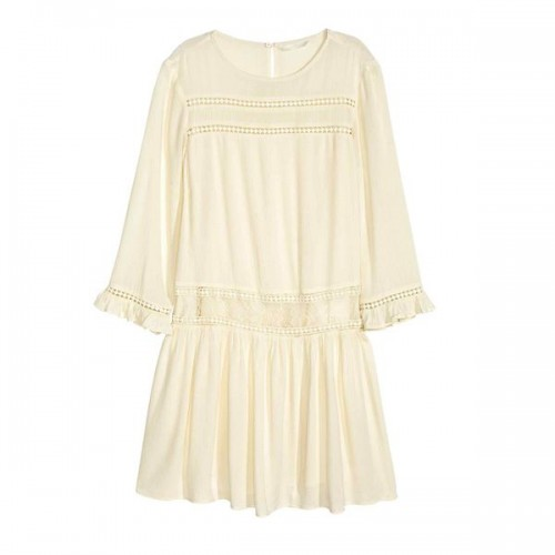 Beżowa sukienka H&M, cena