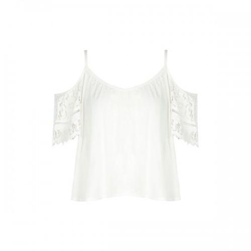 Biała bluzka w stylu boho Tally Weijl, cena