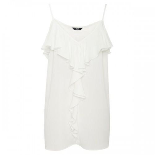 Biała bluzka w stylu boho F&F, cena