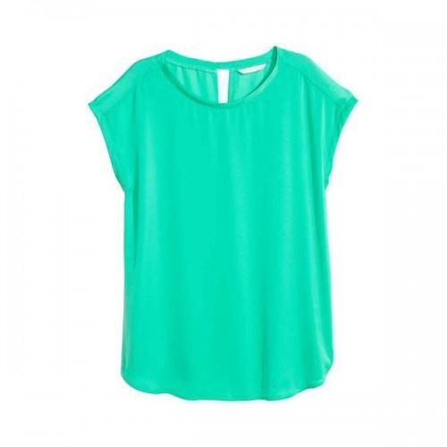 Turkusowa bluzka H&M, cena