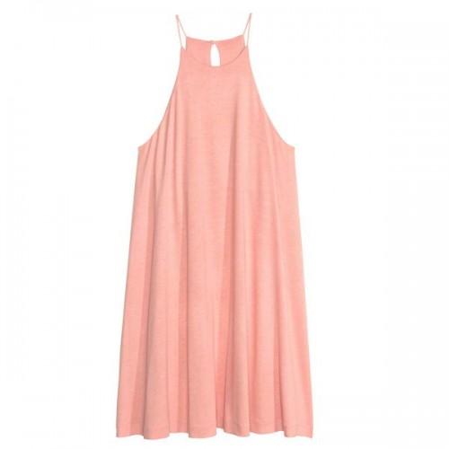 Brzoskwiniowa sukienka H&M, cena