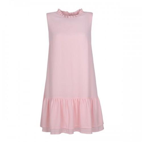 Pudrowo różowa sukienka Mohito, cena