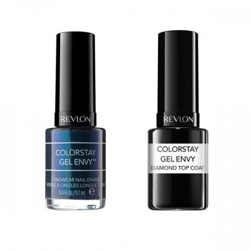 Lakier do paznokci Colorstay Gel Envy i Top Coat Revlon, cena