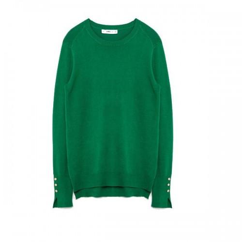Zielony sweter Zara, cena