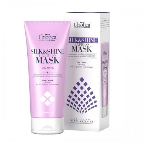 Odżywka do włosów Silk&Shine l'Biotica, cena 24,90 zł