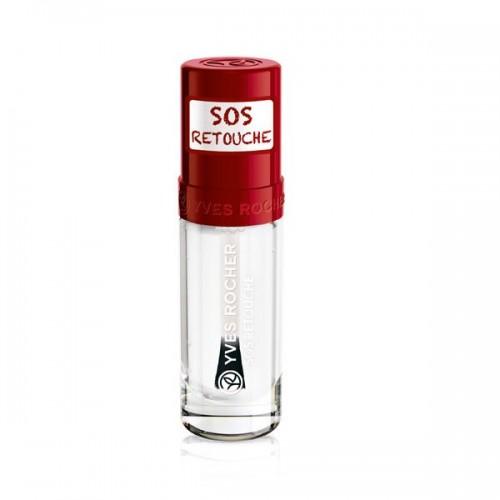 Bezbarwny preparat SOS, który rozwiązuję problem odpryśniętego lakieru na paznokciach Yves Rocher, cena 26 zł