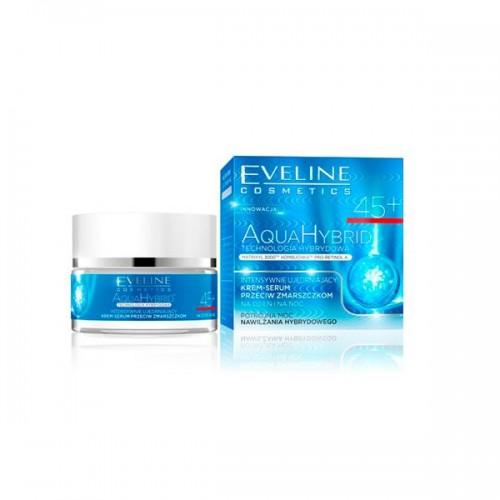 Intensywnie ujędrniający krem-serum przeciw zmarszczkom 45+ na dzień i na noc Eveline, cena 17,90 zł