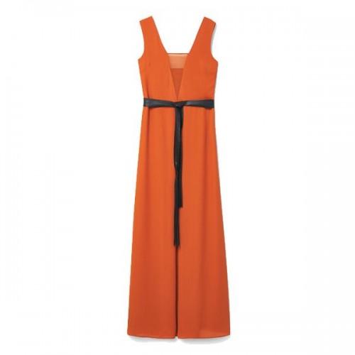 Pomarańczowa sukienka Mango, cena