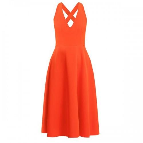 Czerwona sukienka Warehouse, cena