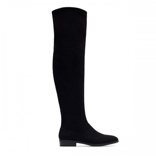 Czarne kozaki Zara, cena