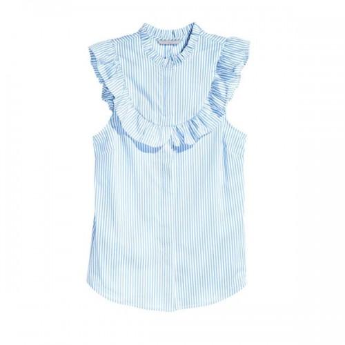 Niebieska bluzka H&M, cena