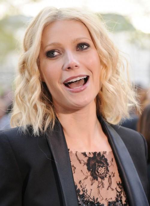 Gwyneth Paltrow, fryzury, makijaż