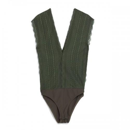 Zielone body Zara, cena