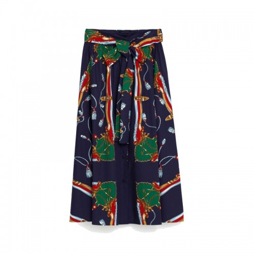 Wzorzysta spódnica Zara, cena