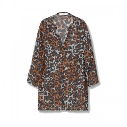 Koszula zdobiona zwierzęcym motywem Mango, cena