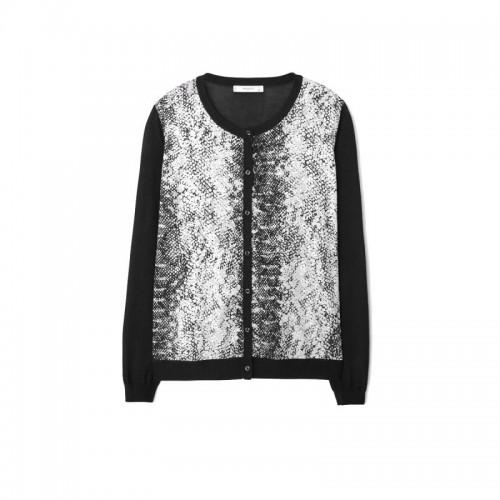 Sweter zdobiony zwierzęcym motywem Mango, cena