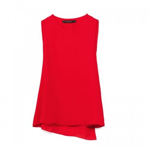 Czerwona bluzka Zara, cena