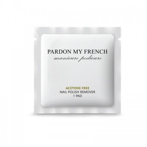 Wegański zmywacz do paznokci w chusteczce Pardon My French, cena