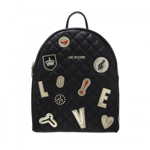 Czarny plecak Love Moschino, cena