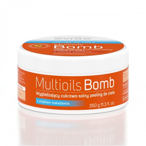 Cukrowo-solny peeling do ciała Multioils Bomb Evree, cena 19,99 zł