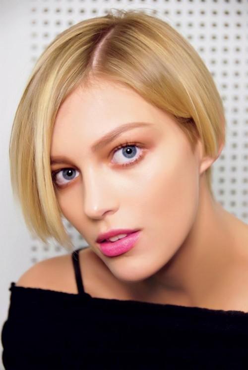 kobieta, modelka, makijaż, fryzury, Anja Rubik