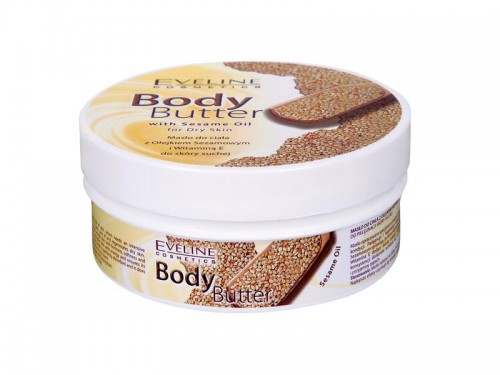 Body Butter with Sesame Oil, Eveline, kosmetyki, krem