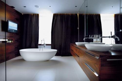 łazienka, wnętrze, wystrój