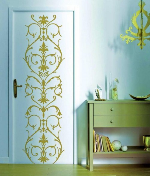 KITCHEN CABINET DOOR DECAL - KITCHEN DESIGN PHOTOS